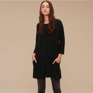 Aritzia Wilfred Free Cober Dress Green XXS
